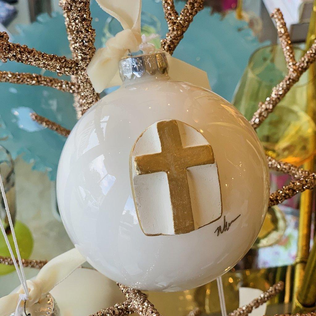 Large Cross Ornament