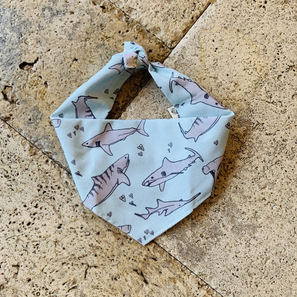 Shark Dog Bandana- Medium