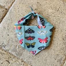 Butterfly Dog Bandana- Large