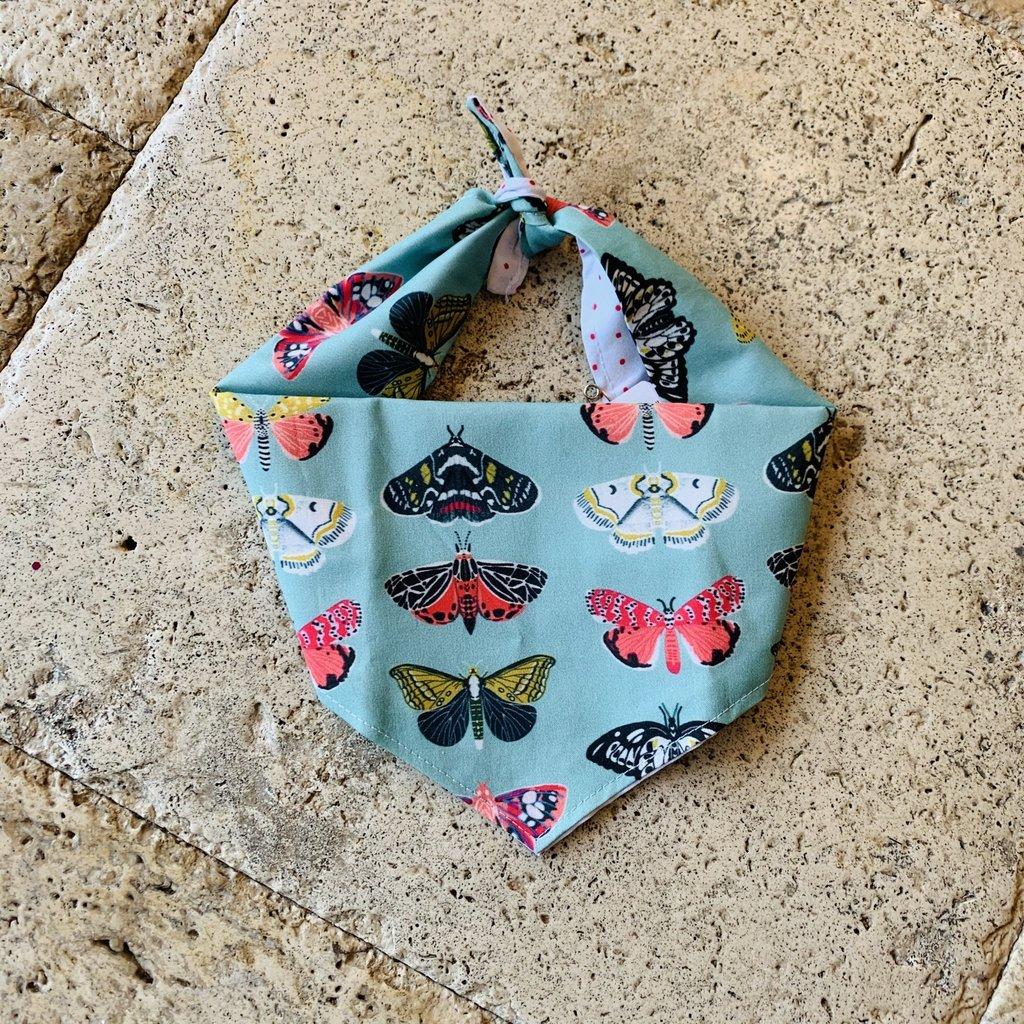 Butterfly Dog Bandana- Medium