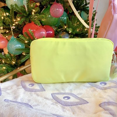 CLASSIC SMALL POUCH-LIME