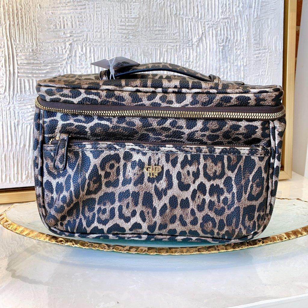 H2234 BLD Getaway Classic Train Case - Bronze Leopard