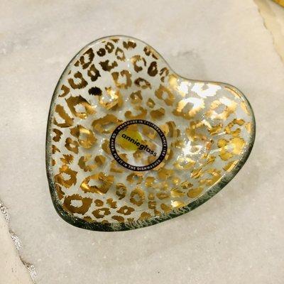 """CSH503G 5"""" Cheetah Heart Bowl"""
