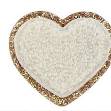 Glitter Heart Adhesive Patch