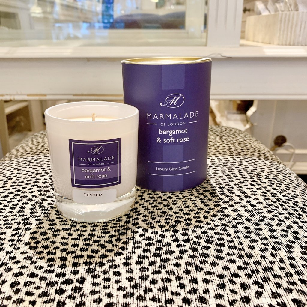 83-11715 Bergamot & Soft Rose Candle