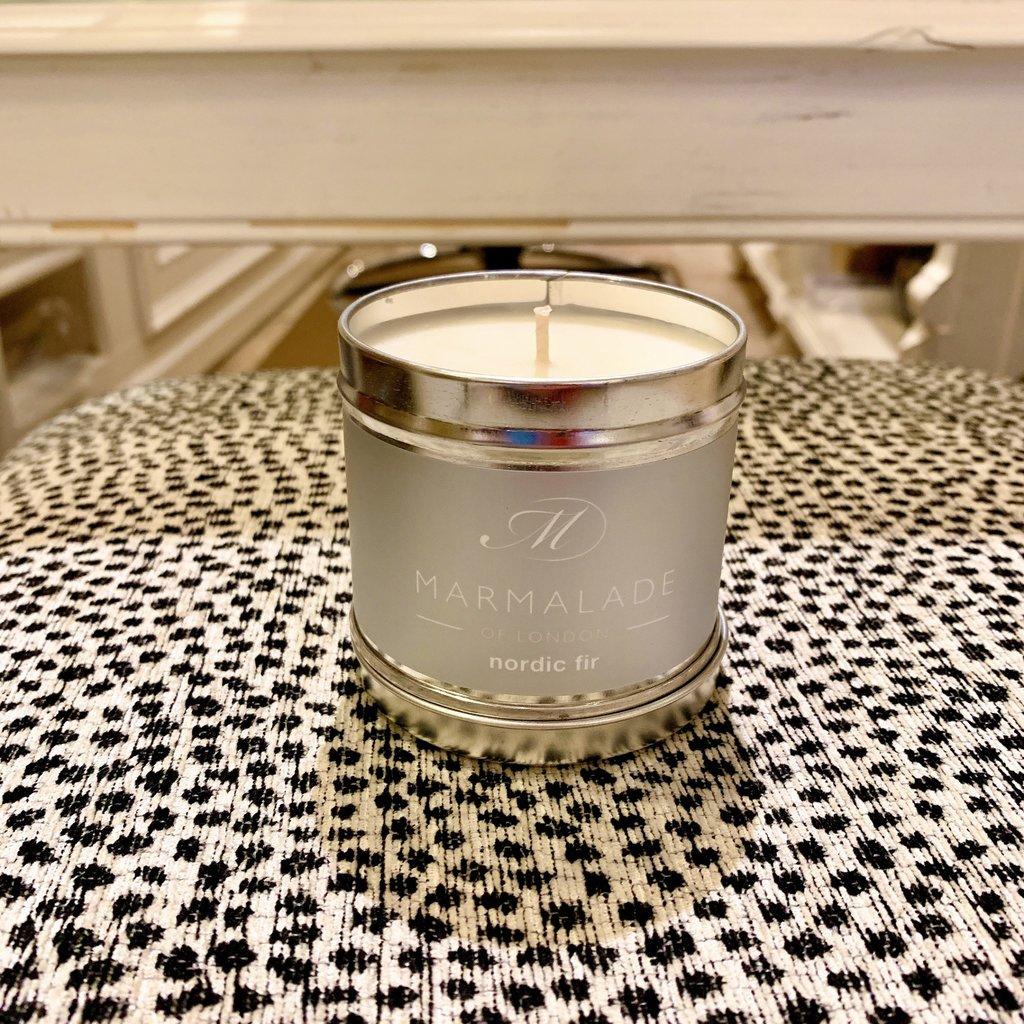 83-11432 Nordic Fir Medium Candle