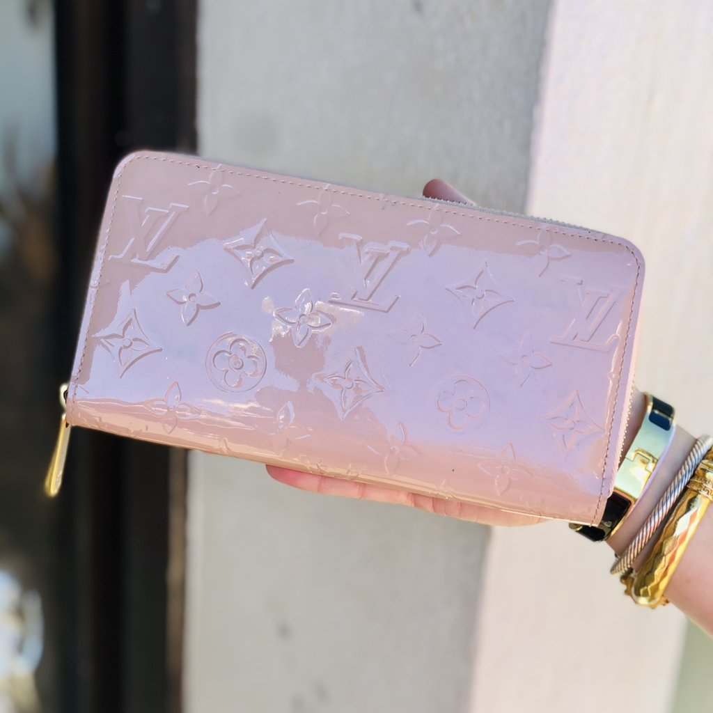 ROSE monogram zippy Louis Vuitton Wallet