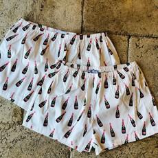 SH-CM-014381 - Erisha- sleep shorts. Champagne- MED