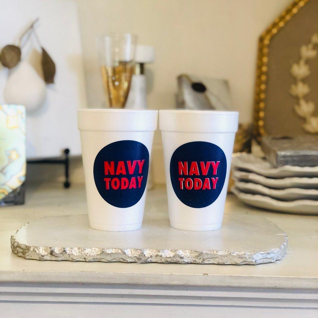 NAVY TODAY styrofoam - NAVY TODAY styrofoam cups