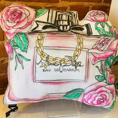 Pink Perfume Pillow