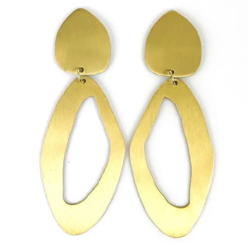 Sally earring: shorter length