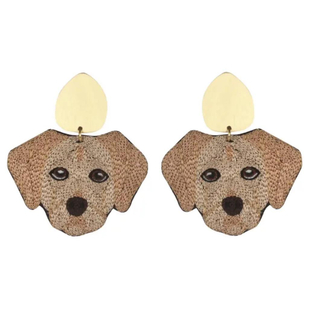 Pup earrings