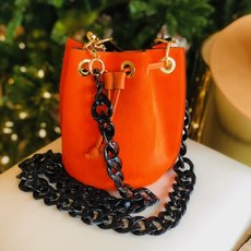 GF0445 Leather Bag-Orange