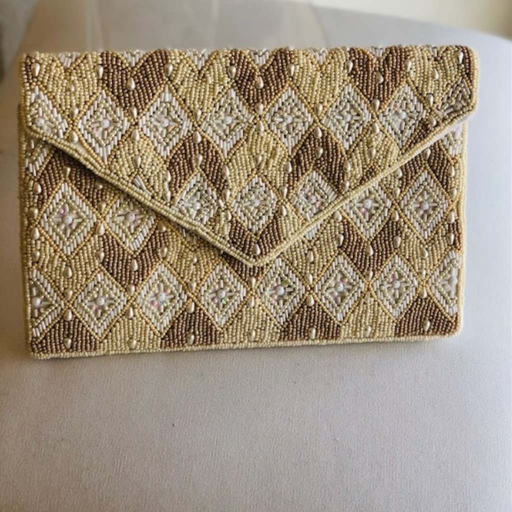 Two Tone Bridal Clutch lac-ss-155