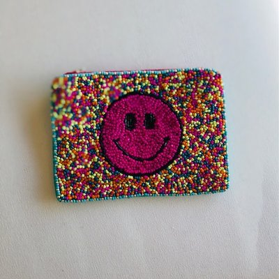 Multi Smiley Pouch
