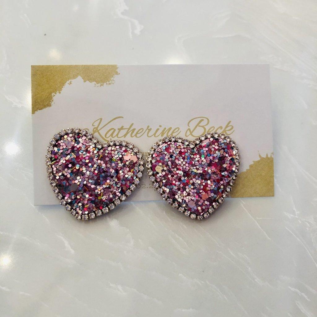 ep24879-002 glitter heart earrings