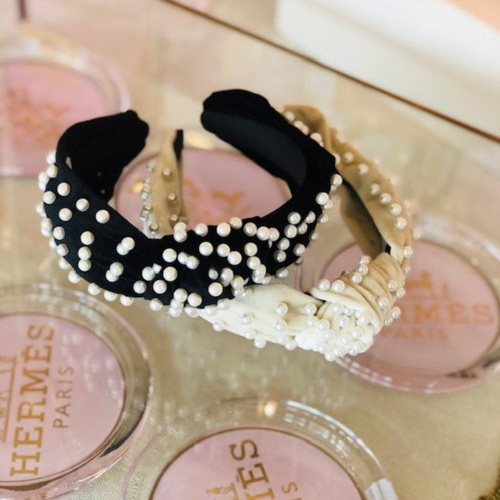 cc37495-001 black pearl stud headband