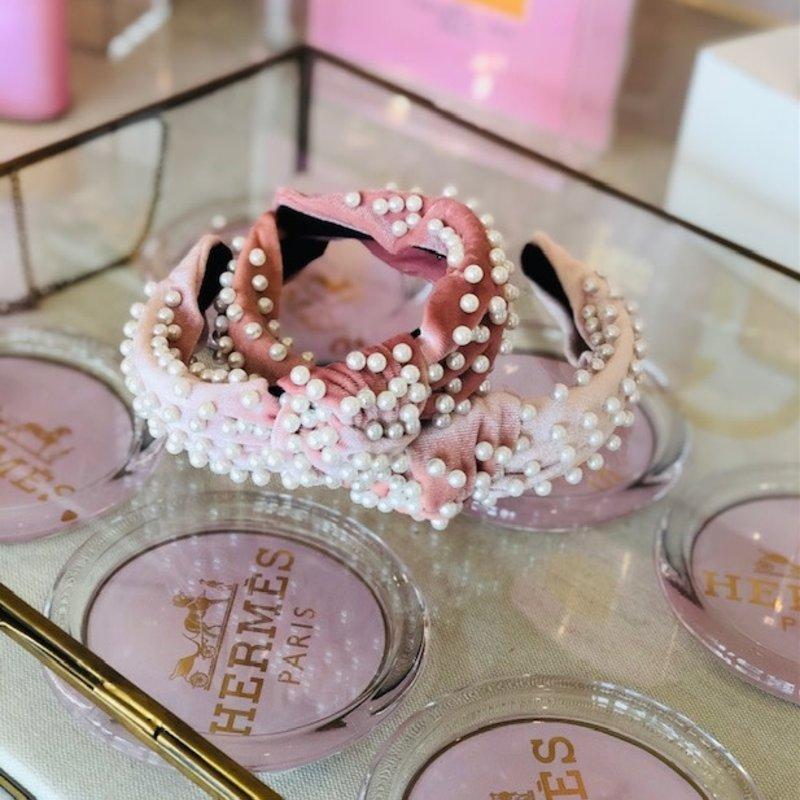cc37495-003 blush pearl velvet headband
