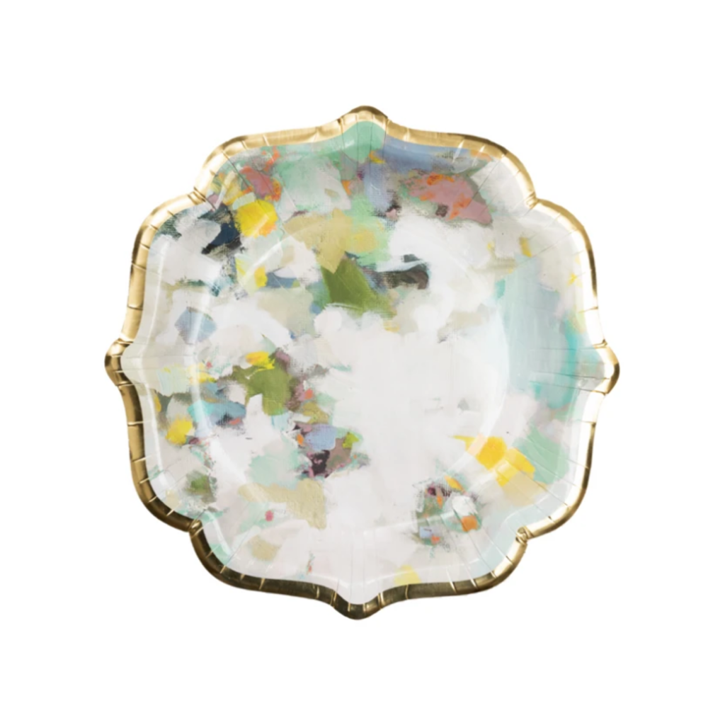Lady Bird cocktail plates