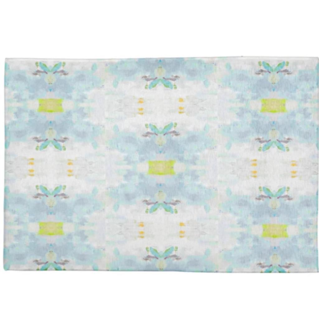 HRA-23-381 Coral bay green floor mat