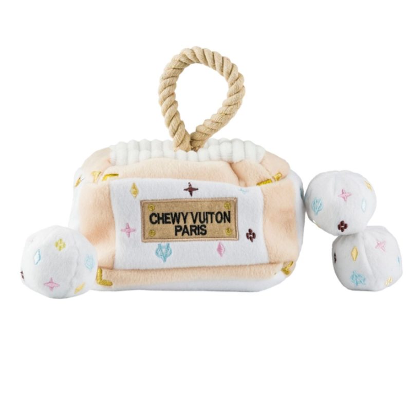 HDD-054 White Chewy Vuiton interactive trunk