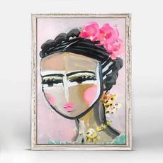 She is fierce - Francis - mini canvas