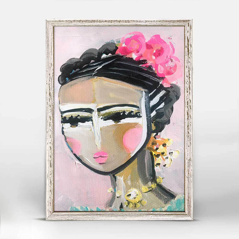 She is fierce - Francis - mini canvas