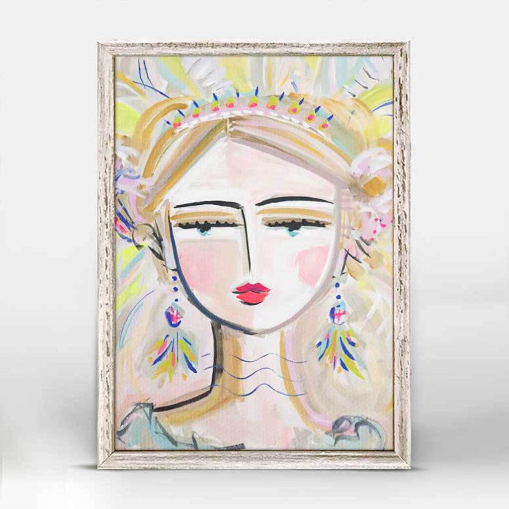 She Is Fierce-Bo Mini Canvas