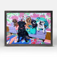 Dog Tales  Pup Pals Mini canvas