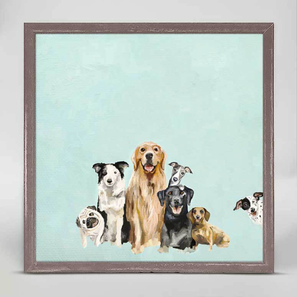 Best Friends Puppy Pack mini canvas