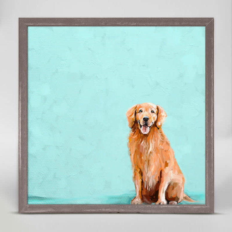Best Friend - Sweet Golden Retriever mini