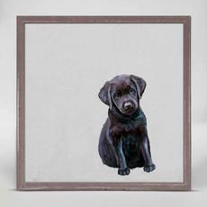 Best Friend - black lab pup mini