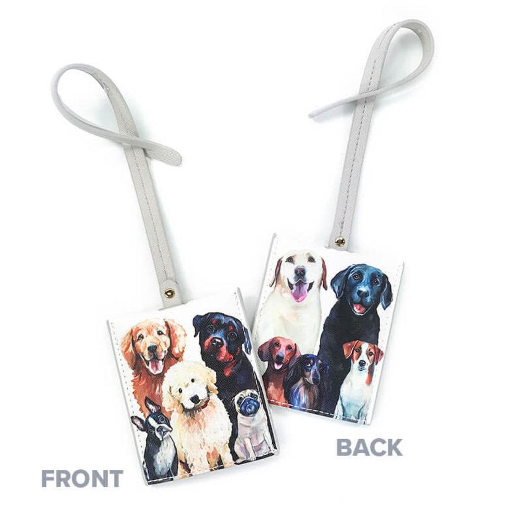 Luggage Tags Best Friend - Dog Bunch