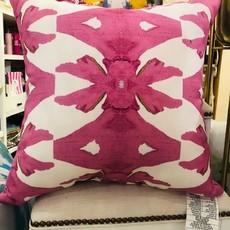 Palm Pink Outdoor Pillow 20x20
