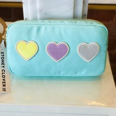 SCL-PSS-016 Cotton Candy small pouch w hearts