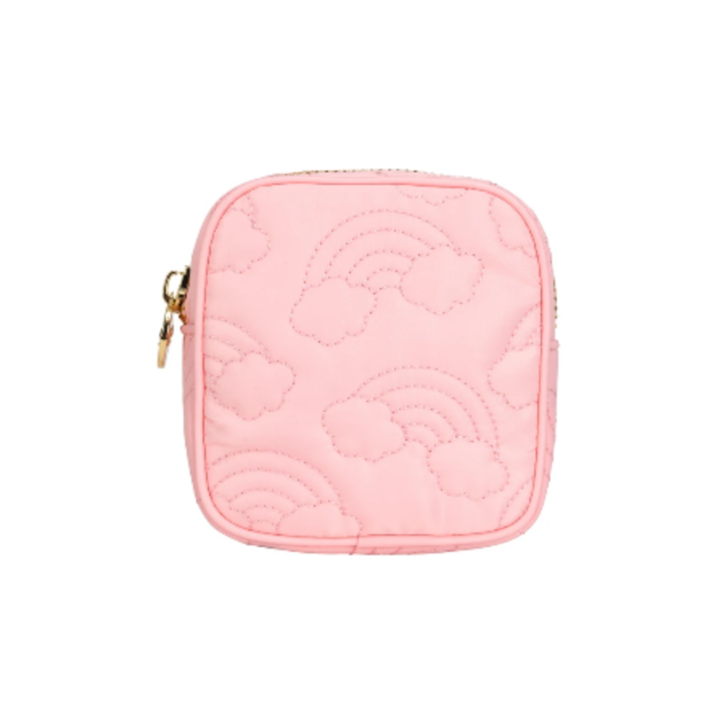 SCL-PNMP Over the Rainbow puffy mini pouch