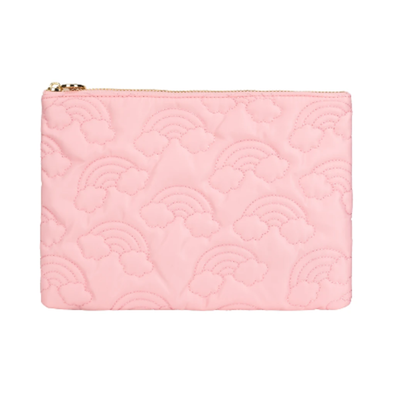 SCL-PNFP over the rainbow puffy flat pouch