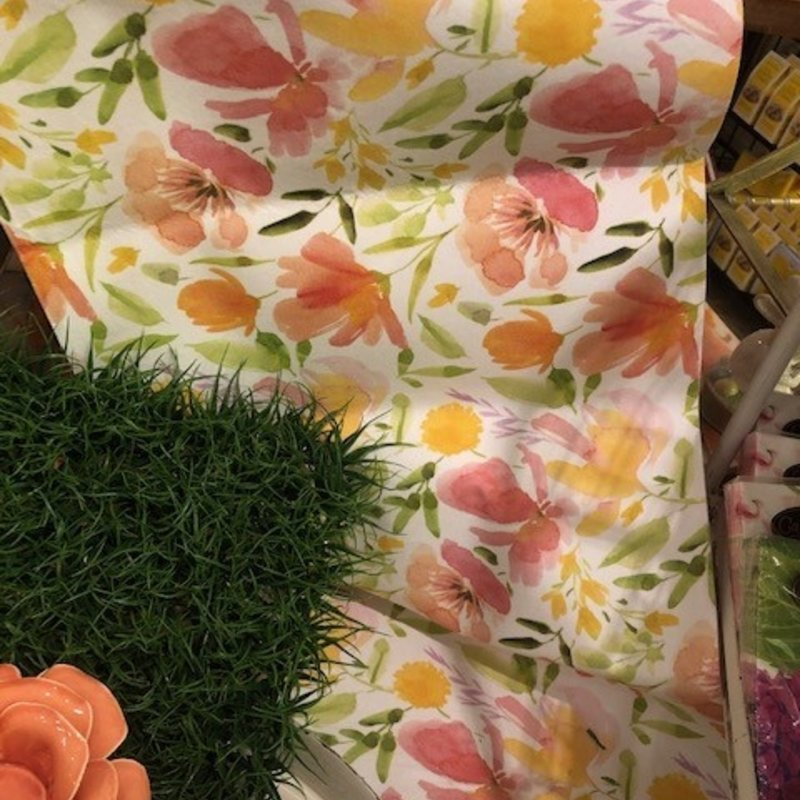 167-10106 floral delight table runner standard