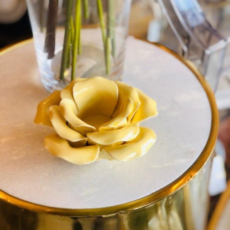 418-10167 petal blossom buttercup tealight holder