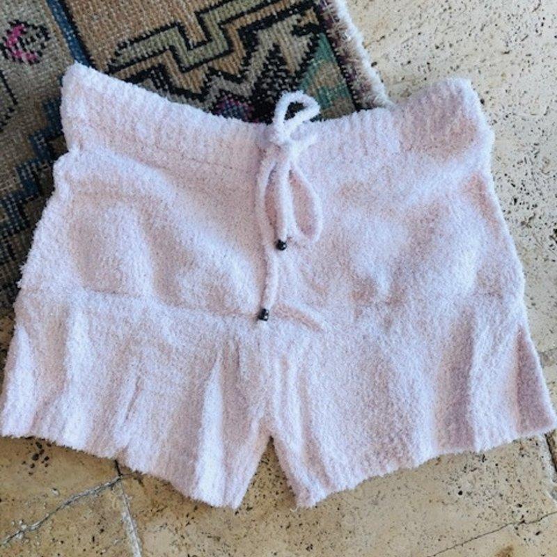 Drawstring Shorts - Pink large