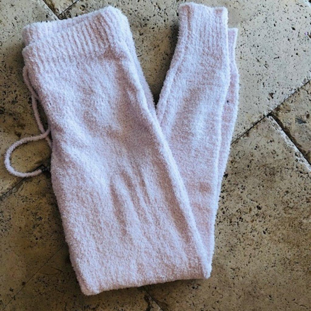 Pink Jogger pants SMALL