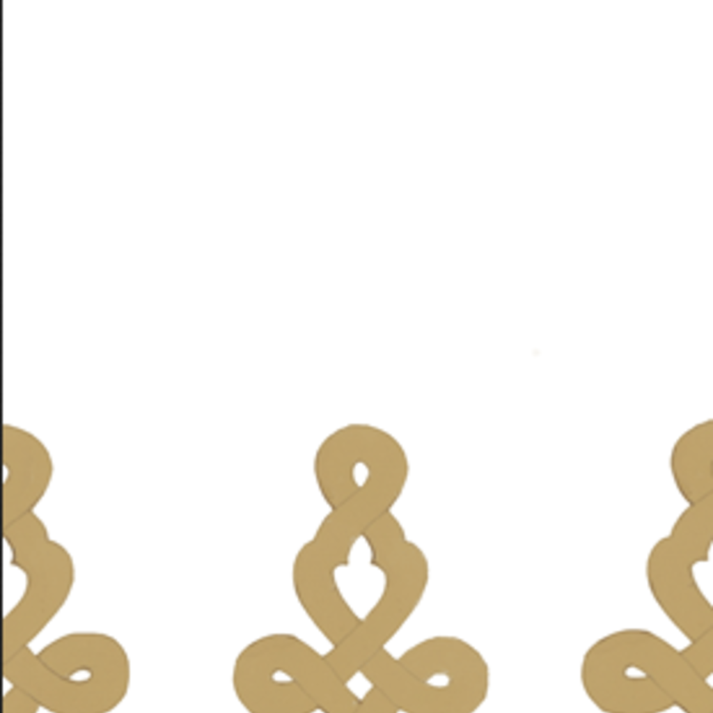 Dessin Passementerie gold - guest towel