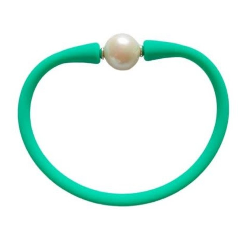 Mermaid Green Freshwater Pearl Maui Necklace