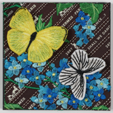 Hermes Ribbon Floral 6, 2021