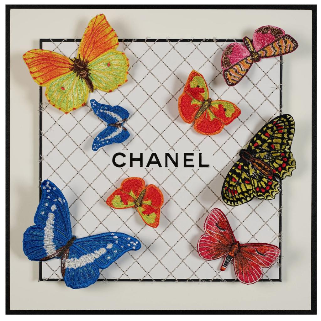 Chanel Eight F, 2021 (12x12)