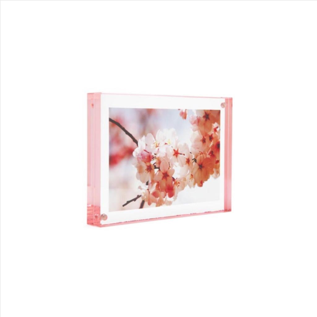 """Rose Edge Magnet Frame 4""""x6"""""""