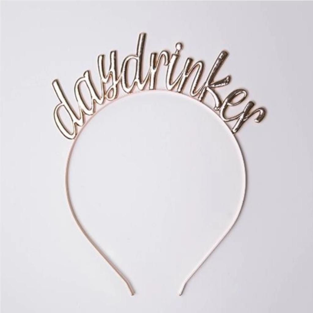 """Day Drinker"" Headband - 1 Pk."