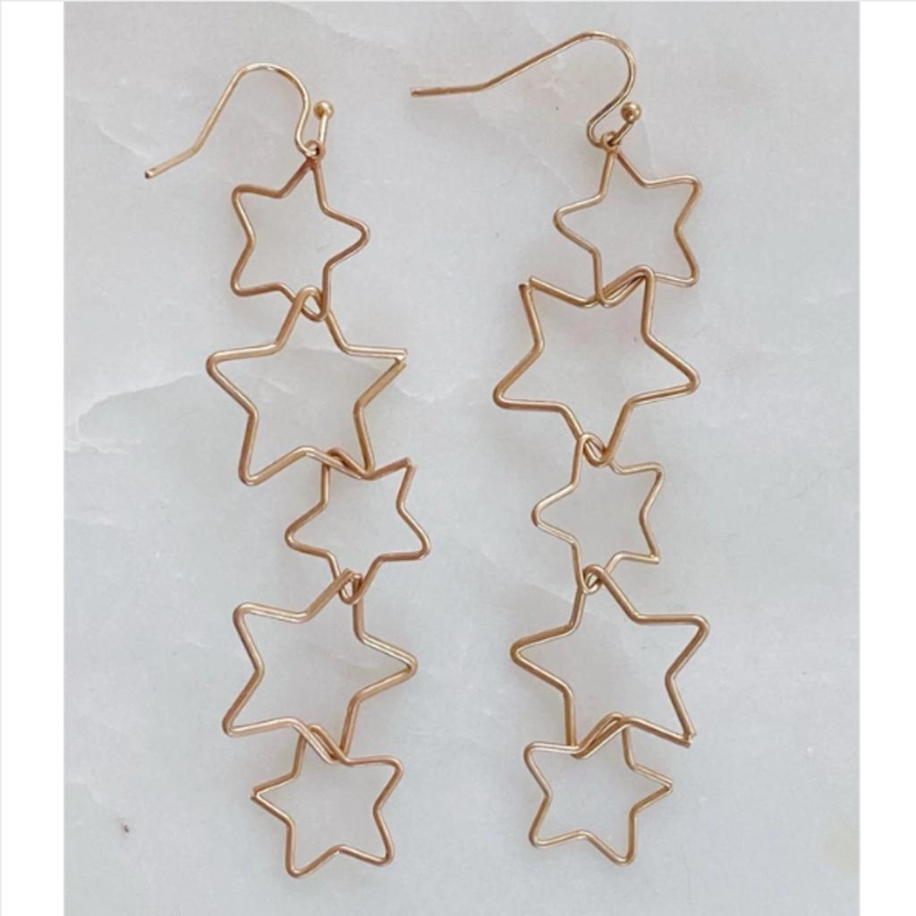 Patchwork Of Stars Earrings