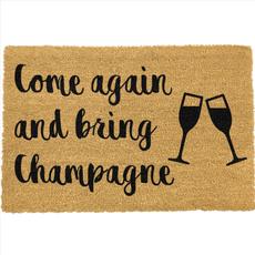Bring Champagne Doormat