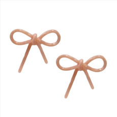 Tortoise Bows - Pink